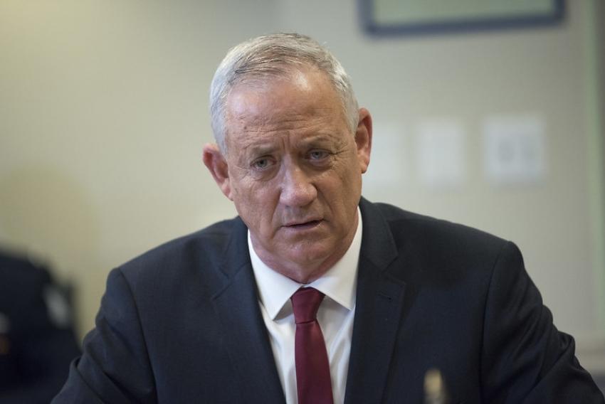 Gantz: Israel está actualizando sus planes para atacar los sitios nucleares de Irán