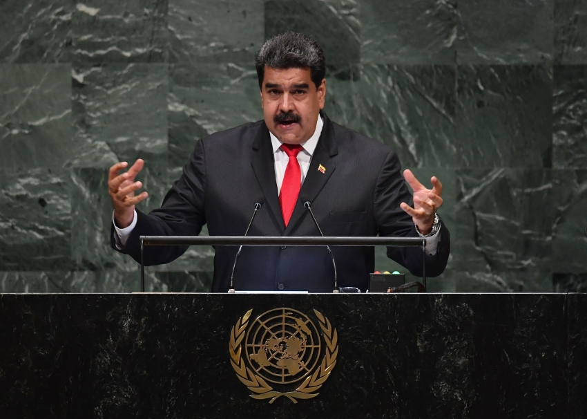 Discurso de Nicolás Maduro en la Asamblea de la ONU: arremete contra Estados Unidos y Colombia.
