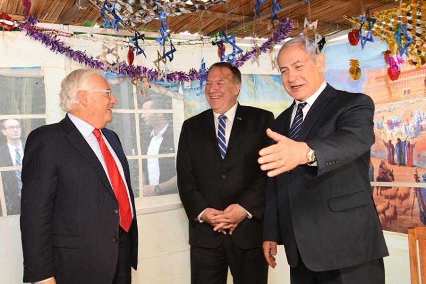 Pompeo trata con Netanyahu en Jerusalén sobre Siria e Irán
