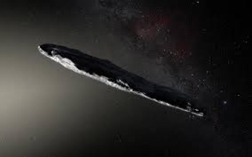 """Científico israelí afirma que Oumuamua podría ser un objeto espacial enviado por una """"civilización extraterrestre""""."""