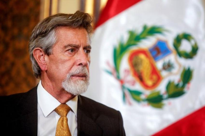 El presidente de Perú se reunió con los familiares de víctimas de la represión policial