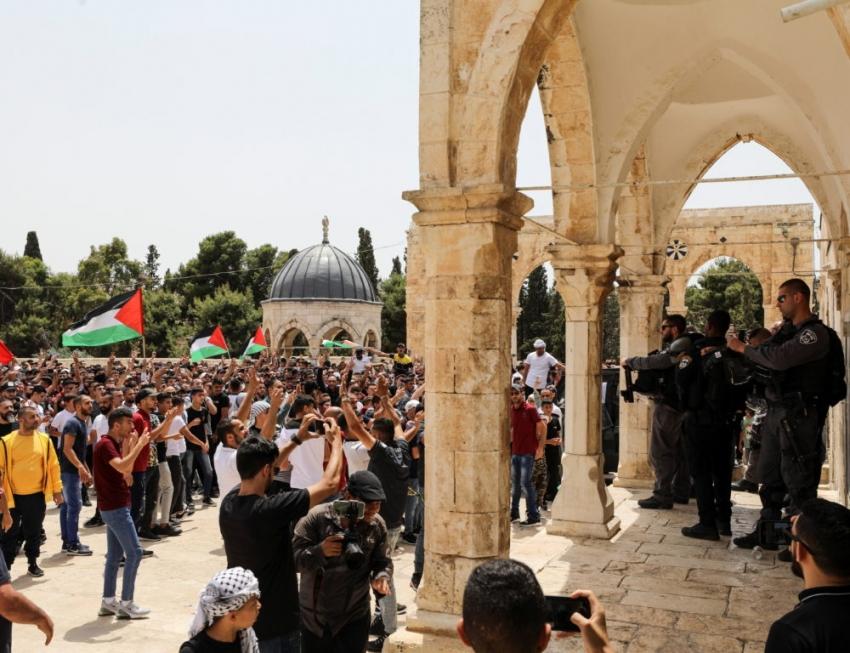Disturbios en Jerusalén luego del alto al fuego