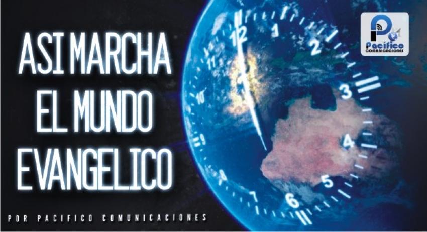 """Noticiero Cristiano """"Así Marcha el Mundo Evangélico""""-Semana del 10 al 16 de Mayo de 2021"""