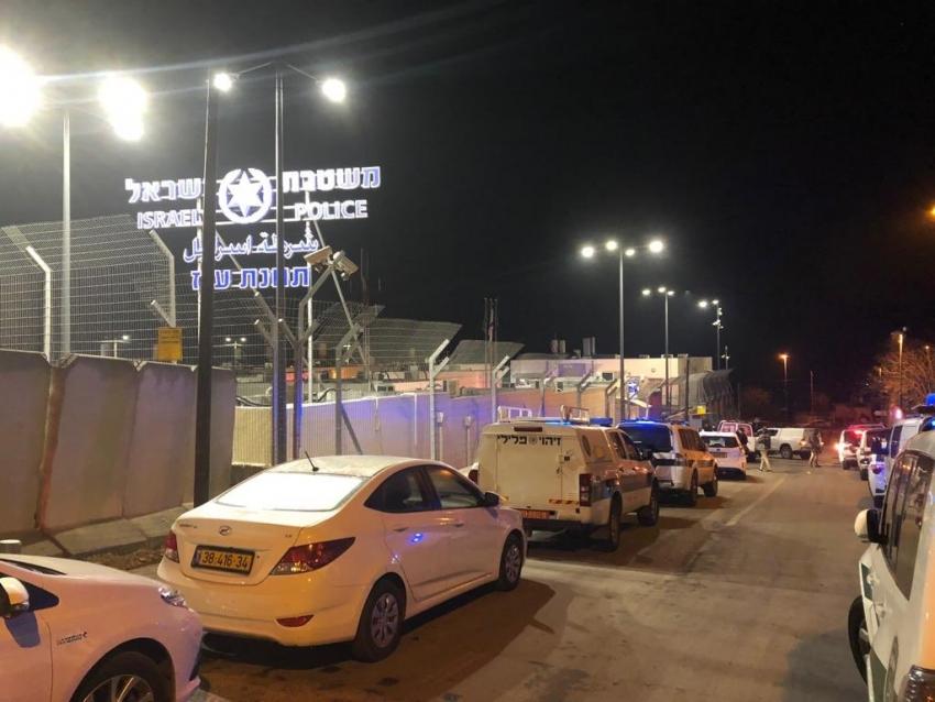 Atentado terrorista en Jerusalén: 4 policías heridos.